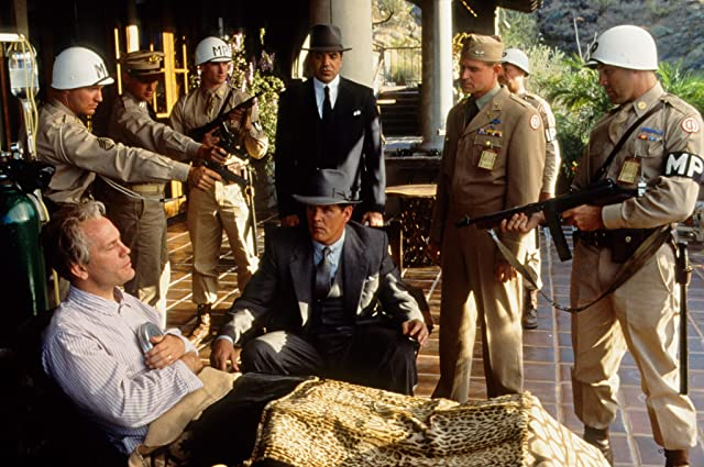 John Malkovich, Nick Nolte, Chazz Palminteri, and Treat Williams in Mulholland Falls (1996)