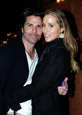 Elizabeth Berkley and Greg Lauren at an event for Exit Through the Gift Shop (2010)
