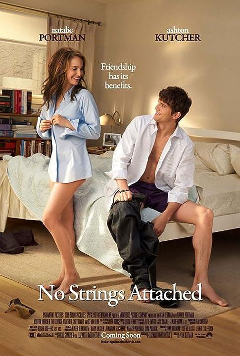 Natalie Portman and Ashton Kutcher in No Strings Attached (2011)