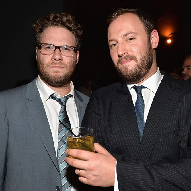 Seth Rogen and Evan Goldberg at an event for This Is the End (2013)