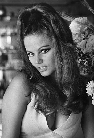 Claudia Cardinale at Home