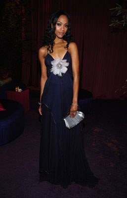 Zoe Saldana at event of The 80th Annual Academy Awards