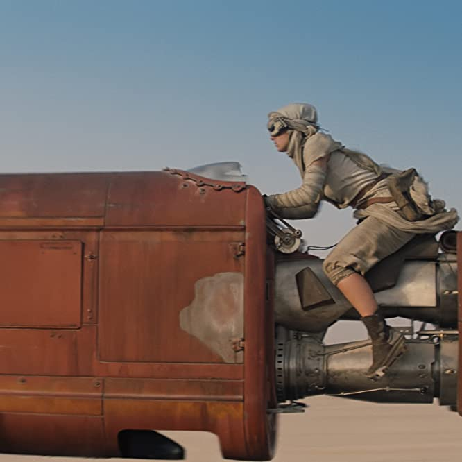 Daisy Ridley in Star Wars: The Force Awakens (2015)
