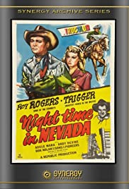 Night Time in Nevada Poster