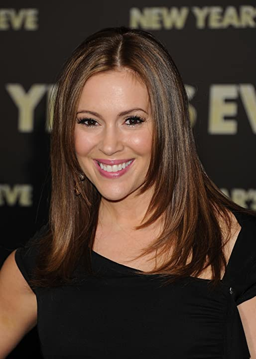 Alyssa Milano at New Year's Eve (2011)