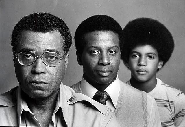 James Earl Jones, Damon Evans, and Kristoff St. John in Roots: The Next Generations (1979)