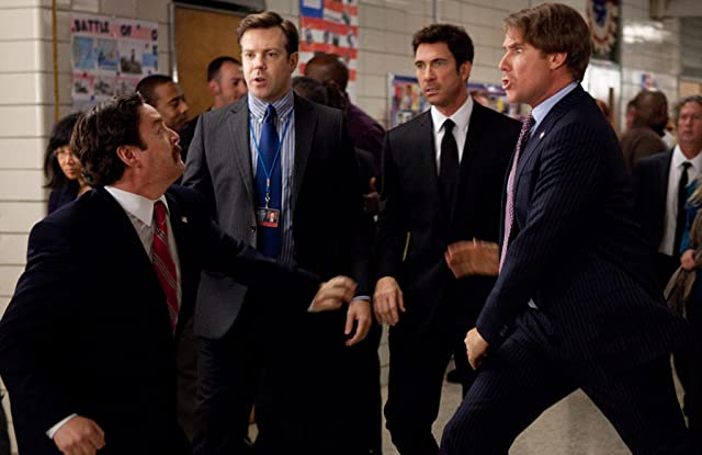 Dylan McDermott, Will Ferrell, Zach Galifianakis, and Jason Sudeikis in The Campaign (2012)
