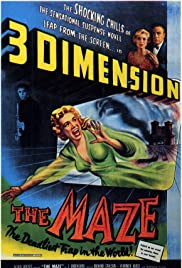The Maze (1953) Poster - Movie Forum, Cast, Reviews
