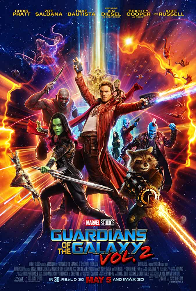 Poster Guardians Of The Galaxy Vol.2 Full HD Movie Download In Hindi Dubbed