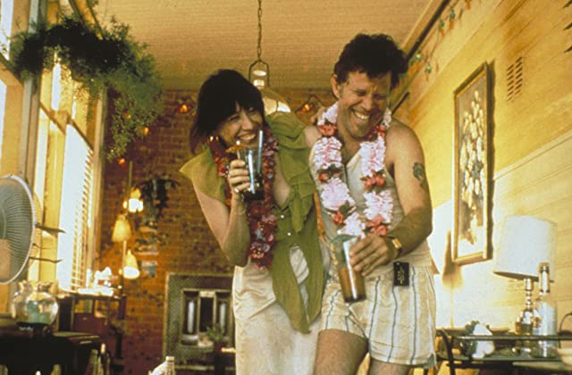 Tom Waits and Lily Tomlin in Short Cuts (1993)