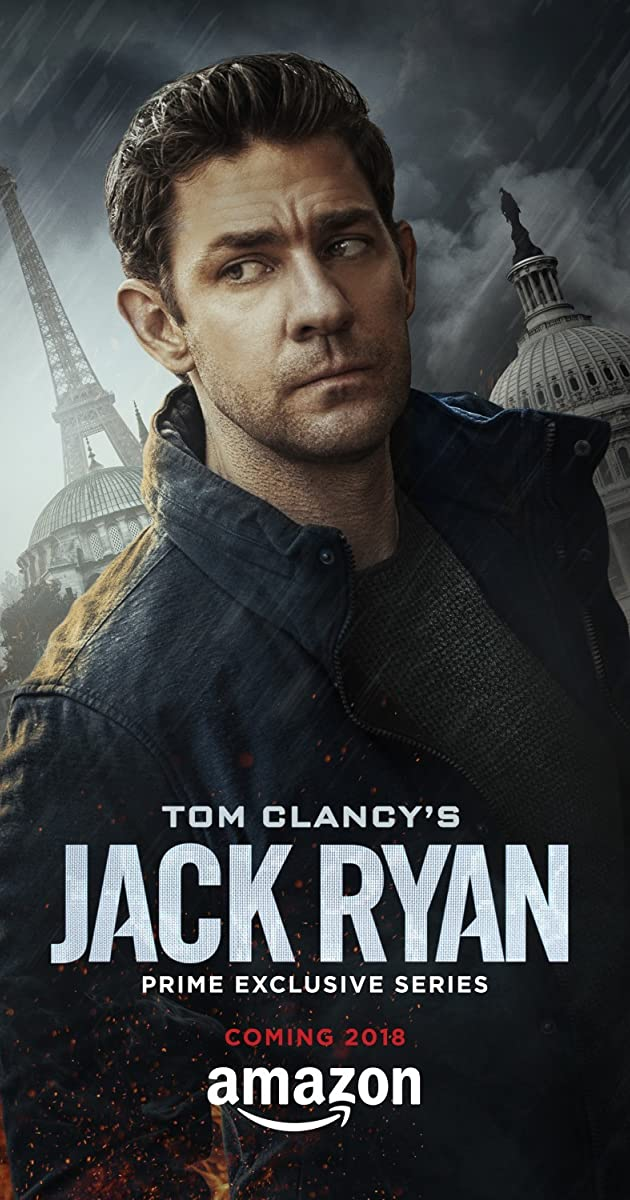 Book Cover Series Imdb : Tom clancy s jack ryan tv series  imdb