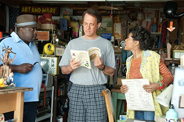 Tom Hanks, Cedric the Entertainer, and Taraji P. Henson in Larry Crowne (2011)