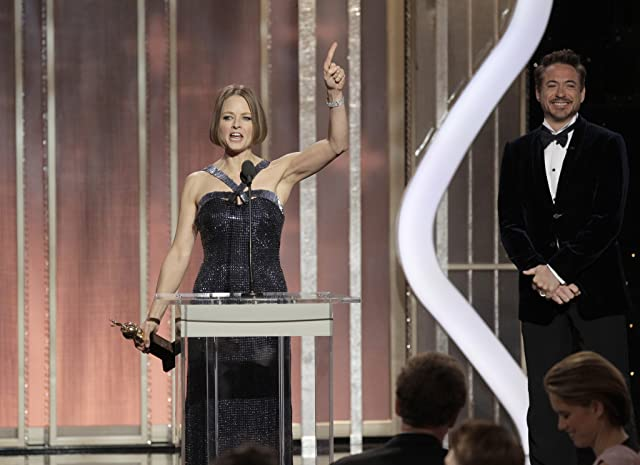 Jodie Foster and Robert Downey Jr.
