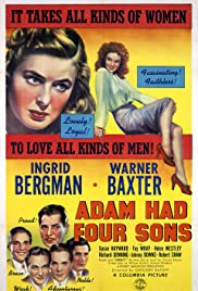 Adam Had Four Sons (1941) Poster - Movie Forum, Cast, Reviews