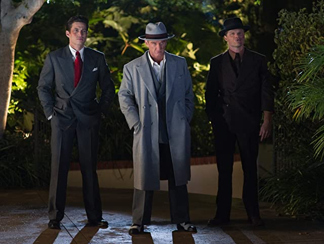 Sean Penn, James Carpinello, and Evan Jones in Gangster Squad (2013)