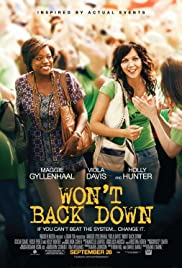 Won't Back Down (2012) Poster - Movie Forum, Cast, Reviews