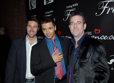 Jai Rodriguez, Ted Allen, and Kyan Douglas at Living with Fran (2005)