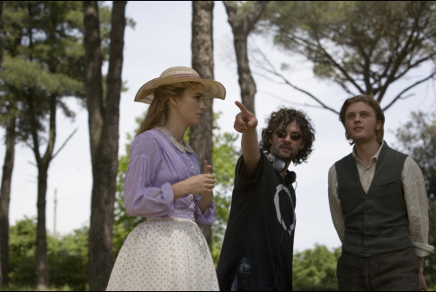 François Girard, Keira Knightley, and Michael Pitt in Silk (2007)