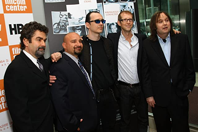 Jason Baldwin, Joe Berlinger, Damien Wayne Echols, Jessie Misskelley, and Bruce Sinofsky at Paradise Lost 3: Purgatory (2011)