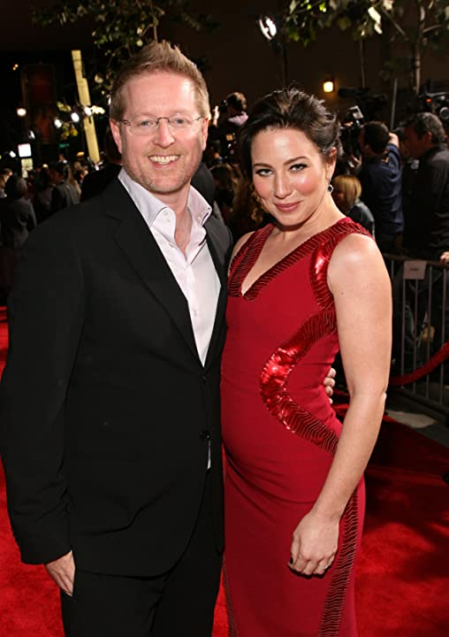 Andrew Stanton and Lynn Collins at an event for John Carter (2012)