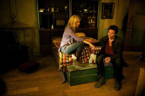 Billy Burke and Elizabeth Mitchell in Revolution (2012)