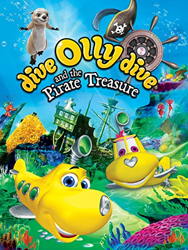 Olis ir piratų lobis / Dive Olly Dive and the Pirate Treasure (2014) žiūrėti online