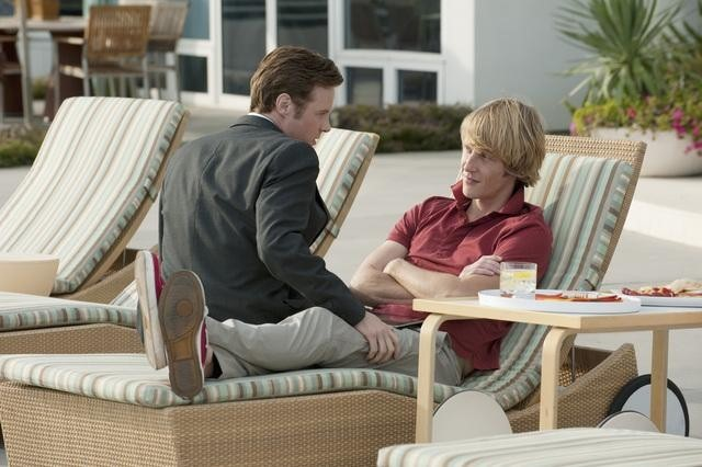 Gabriel Mann and Ashton Holmes in Revenge (2011)
