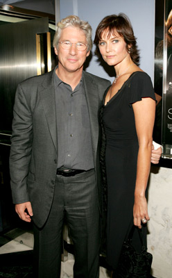 Richard Gere and Carey Lowell at Shall We Dance (2004)