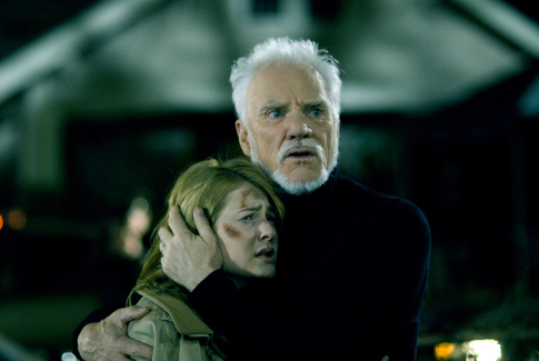 Malcolm McDowell and Scout Taylor-Compton in Halloween (2007)