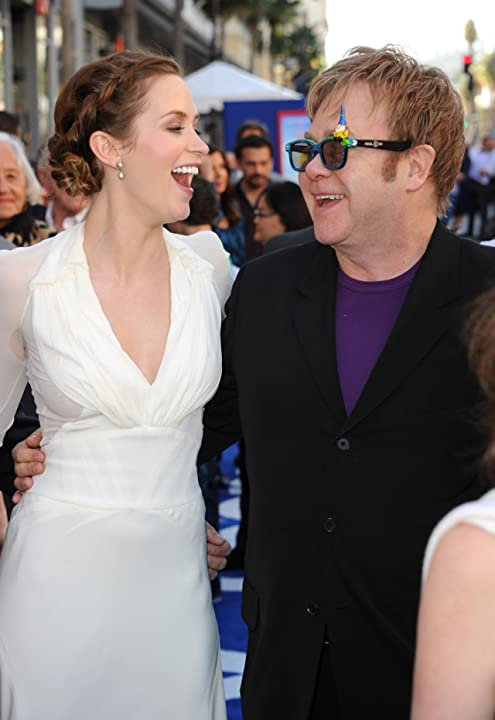 Elton John and Emily Blunt at Gnomeo & Juliet (2011)
