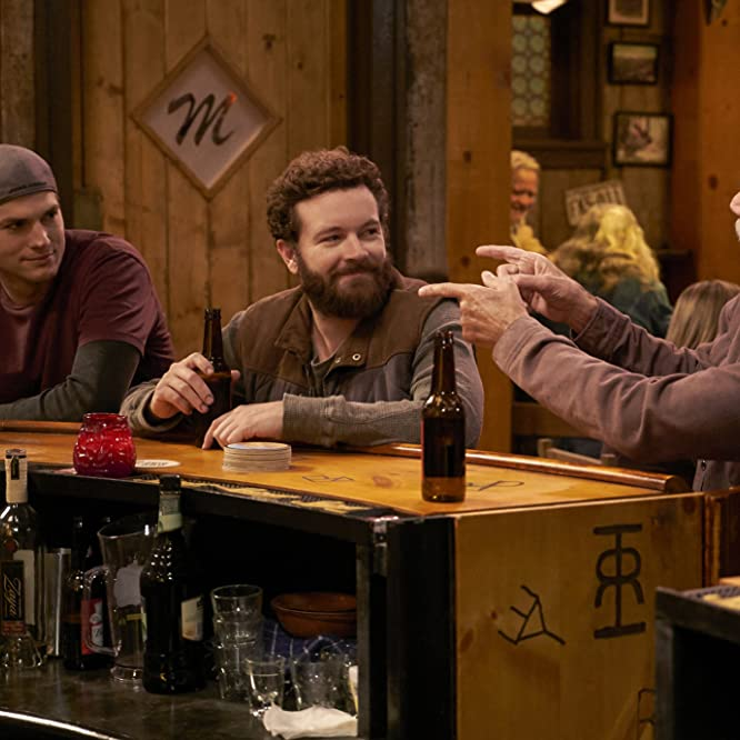 Sam Elliott, Ashton Kutcher, and Danny Masterson in The Ranch (2016)