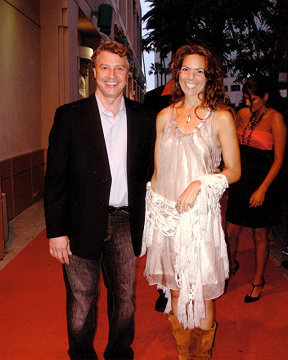 Edd Hall with girlfriend, actress Dawn Meyer, at 2009 Red Carpet premiere at the Academy of Television Arts & Sciences in Studio City, CA.