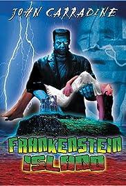 Frankenstein Island Poster