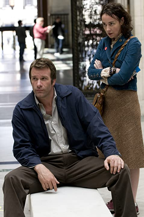 Thomas Jane and Jane Adams in Hung (2009)