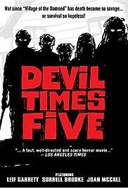 Devil Times Five(1974) Poster - Movie Forum, Cast, Reviews