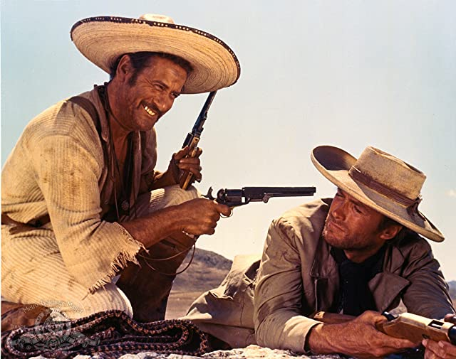 Clint Eastwood and Eli Wallach in The Good, the Bad and the Ugly (1966)