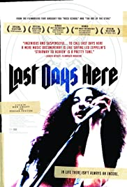Last Days Here Poster