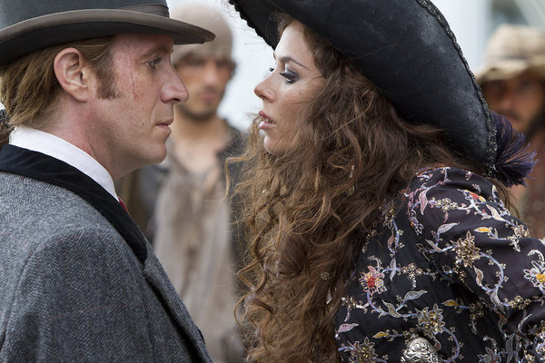 Anna Friel and Rhys Ifans in Neverland (2011)