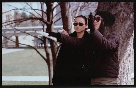 Bai Ling & director Bertha Bay-Sa Pan on