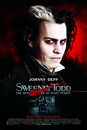 Sweeney Todd: The Demon Barber of Fleet Street (2007) poster