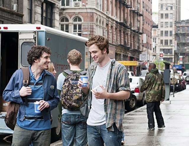 Robert Pattinson and Tate Ellington in Remember Me (2010)