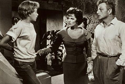 Hayley Mills, Maureen O'Hara and Brian Keith in Disney's
