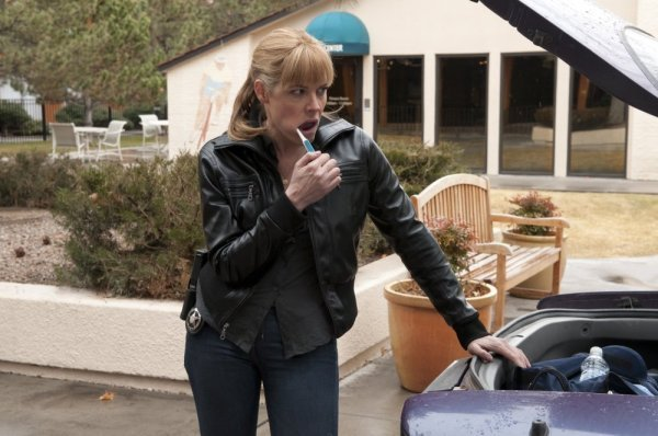 Mary McCormack in In Plain Sight: When Mary Met Marshall (2010)