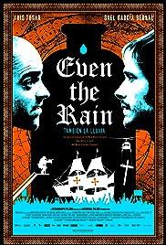 También la lluvia Poster