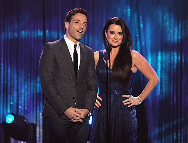 Kyle Richards and George Kotsiopoulos