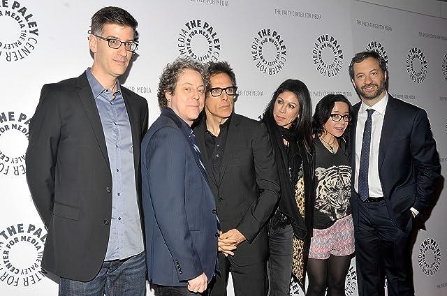 Janeane Garofalo, Ben Stiller, Judd Apatow, Robert Cohen, Jeff Kahn, and Caroline Hirsch at The Ben Stiller Show (1992)