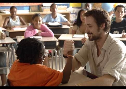 Ryan Gosling and Shareeka Epps in Half Nelson (2006)