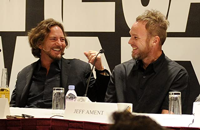 Jeff Ament, Eddie Vedder, and Pearl Jam at Pearl Jam Twenty (2011)