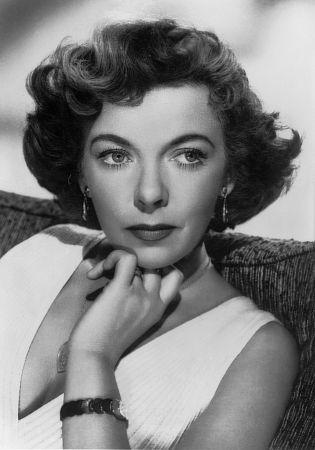 L'attrice Ida Lupino