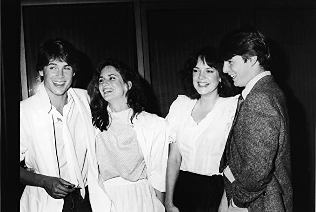 Tom Cruise, Rob Lowe, Melissa Gilbert, and Michelle Meyrink